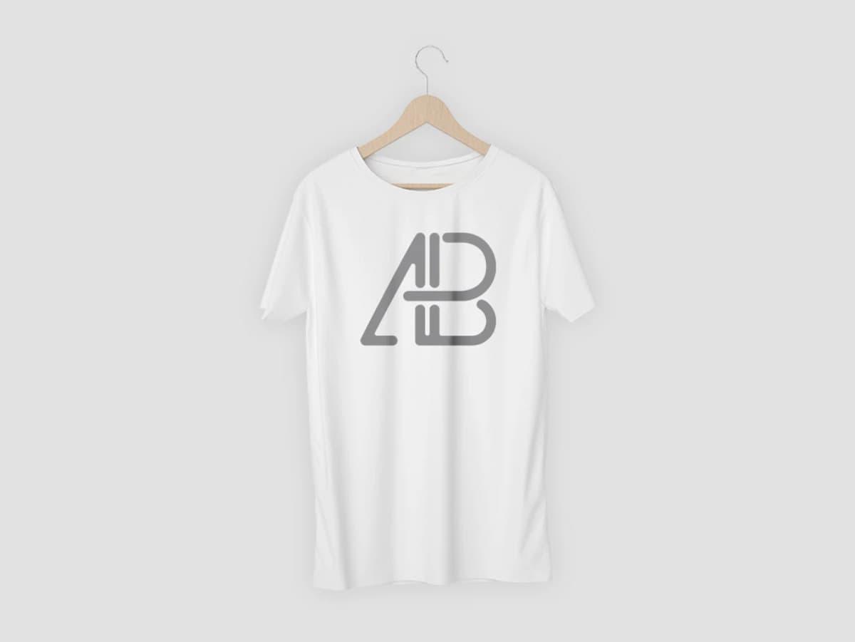 Free Realistic 5K T-Shirt PSD Mockup