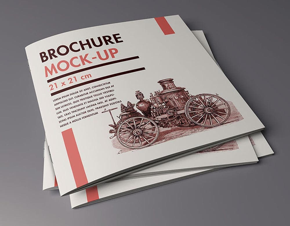 Folder / Brochure Free PSD Mockups