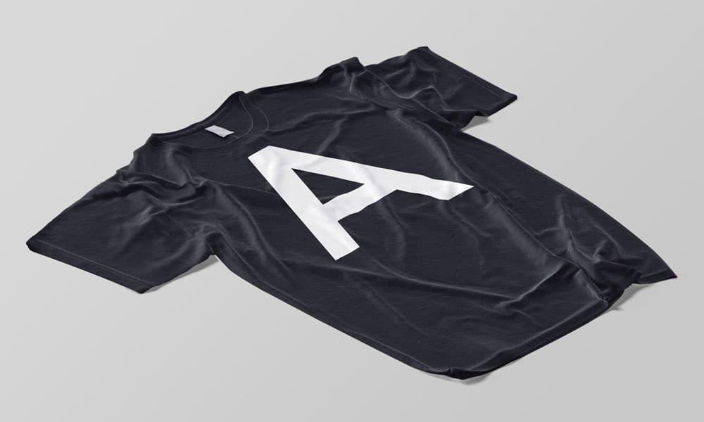 Free Changeable T-Shirt PSD Mockup