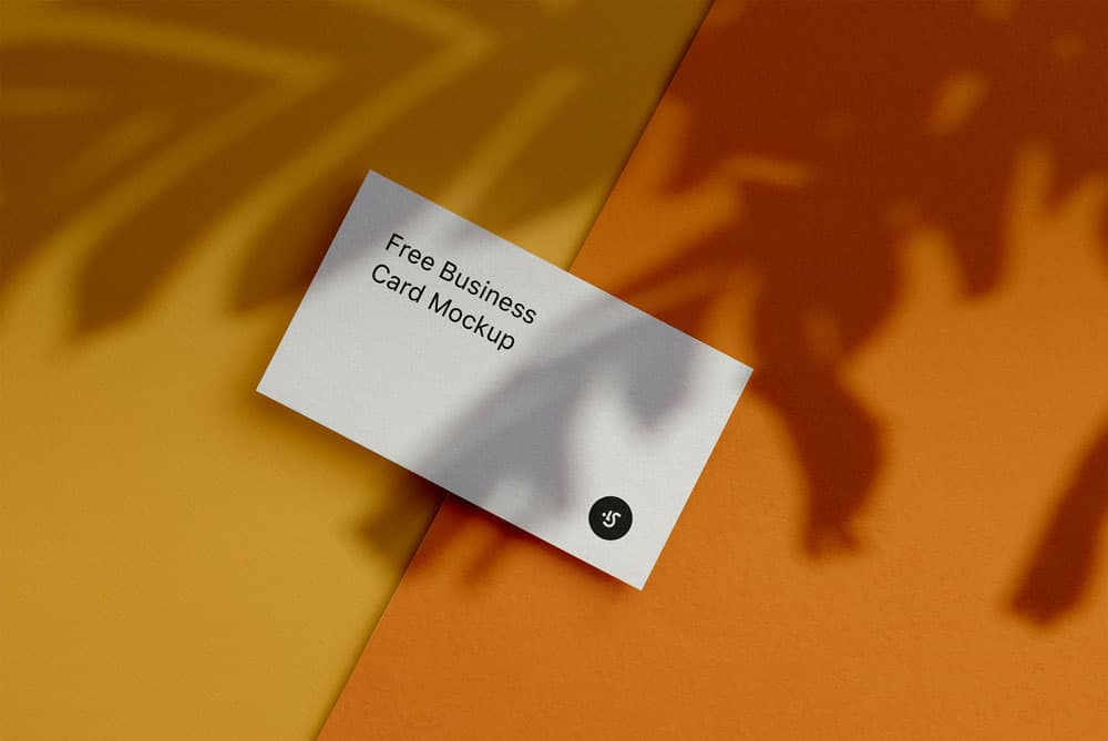 Free Fully Editable Business Cards PSD Mockups