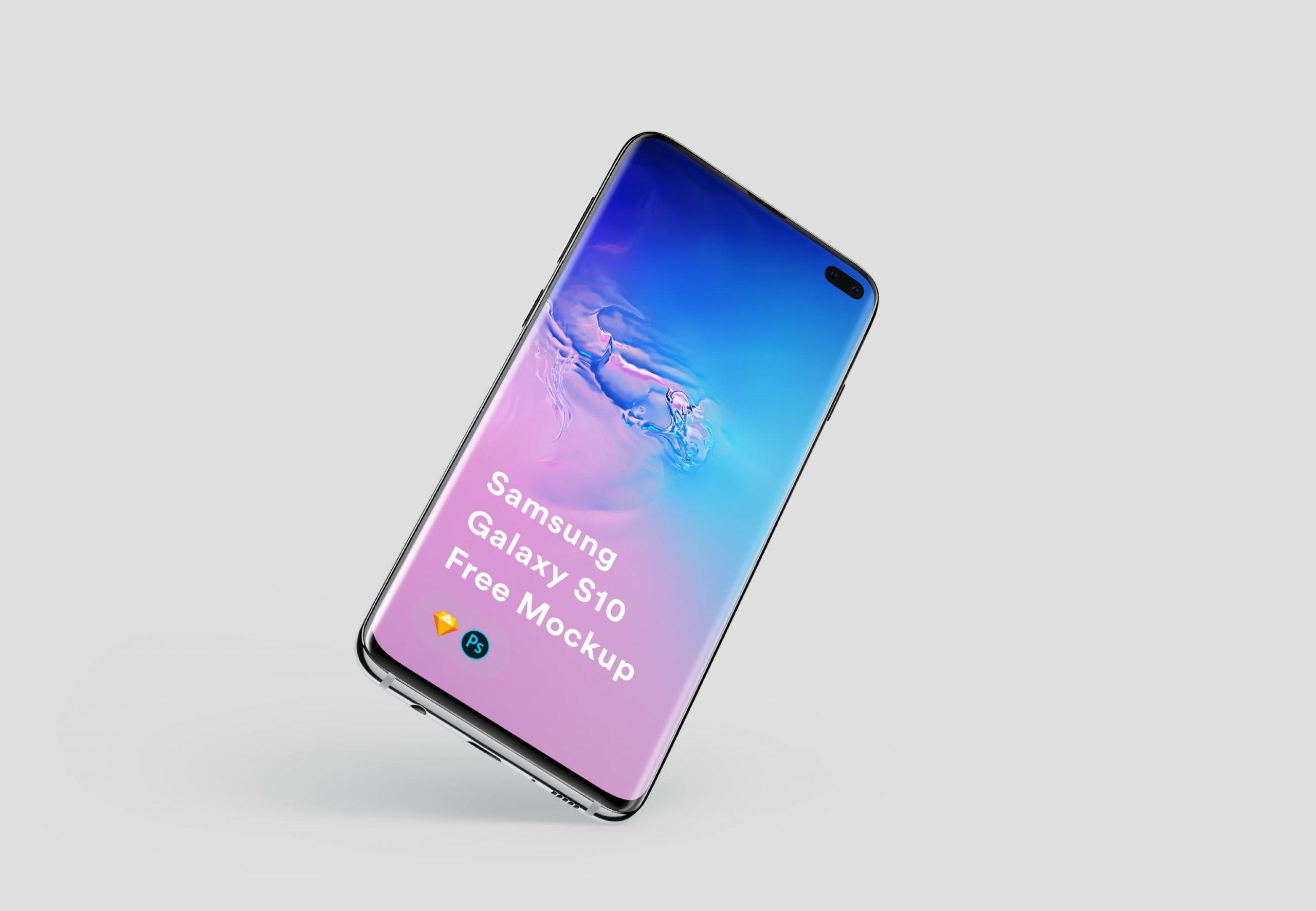 Free Samsung Galaxy PSD Mockups