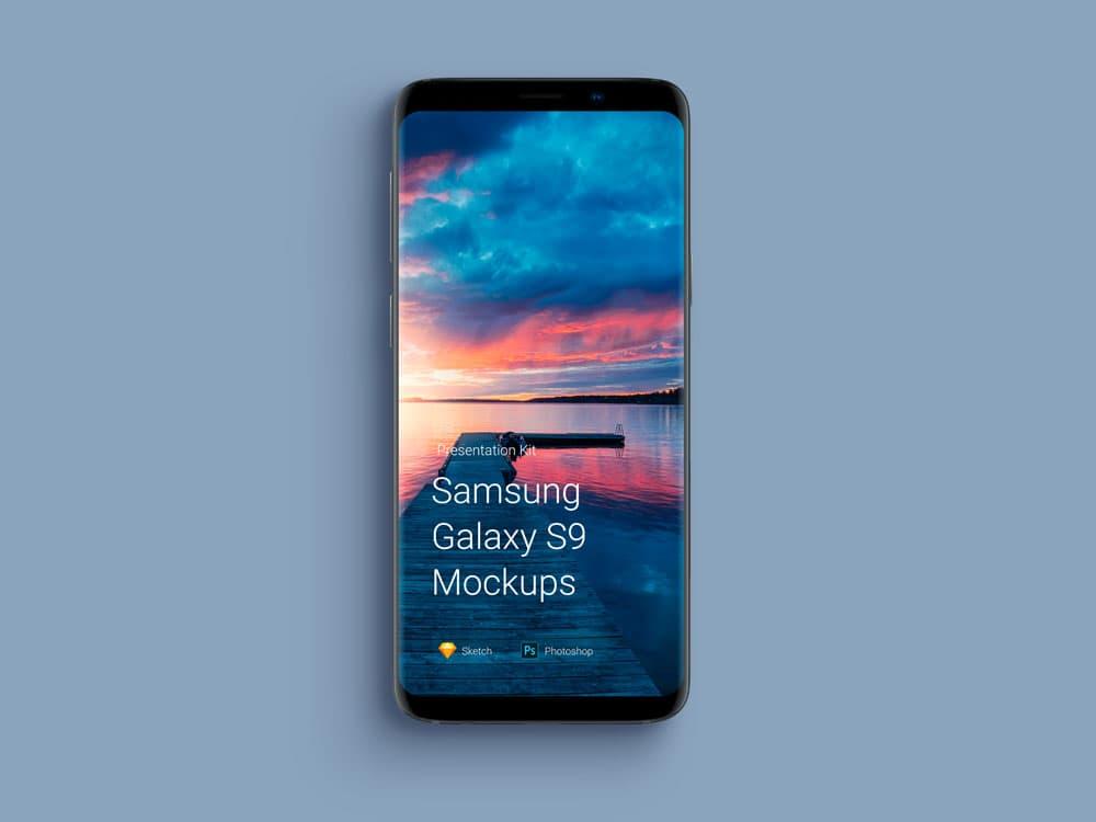 Free Samsung Galaxy Phone PSD Mockups