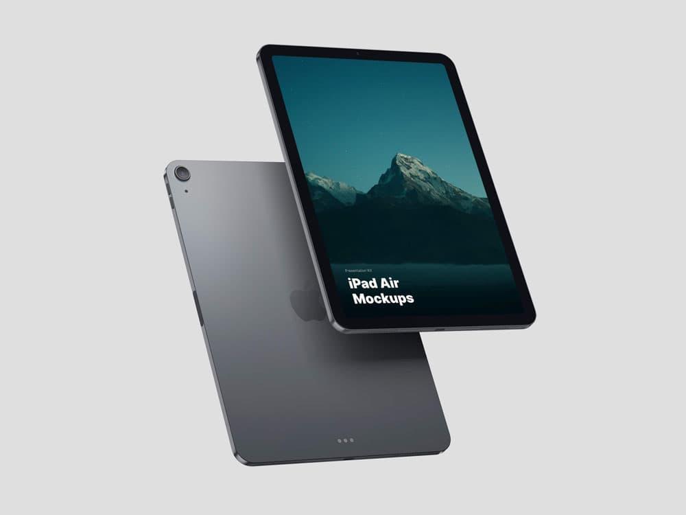 Free iPad Air PSD Mockup