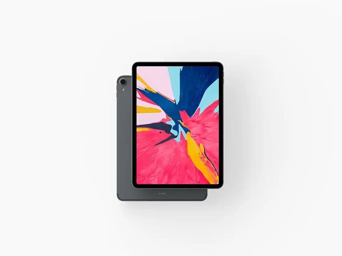 Free iPad Pro PSD Mockup
