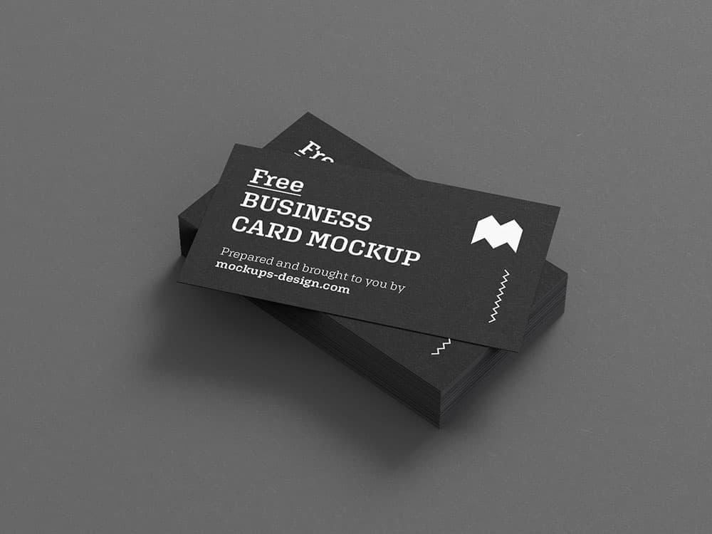 Free Business Card PSD Mockups
