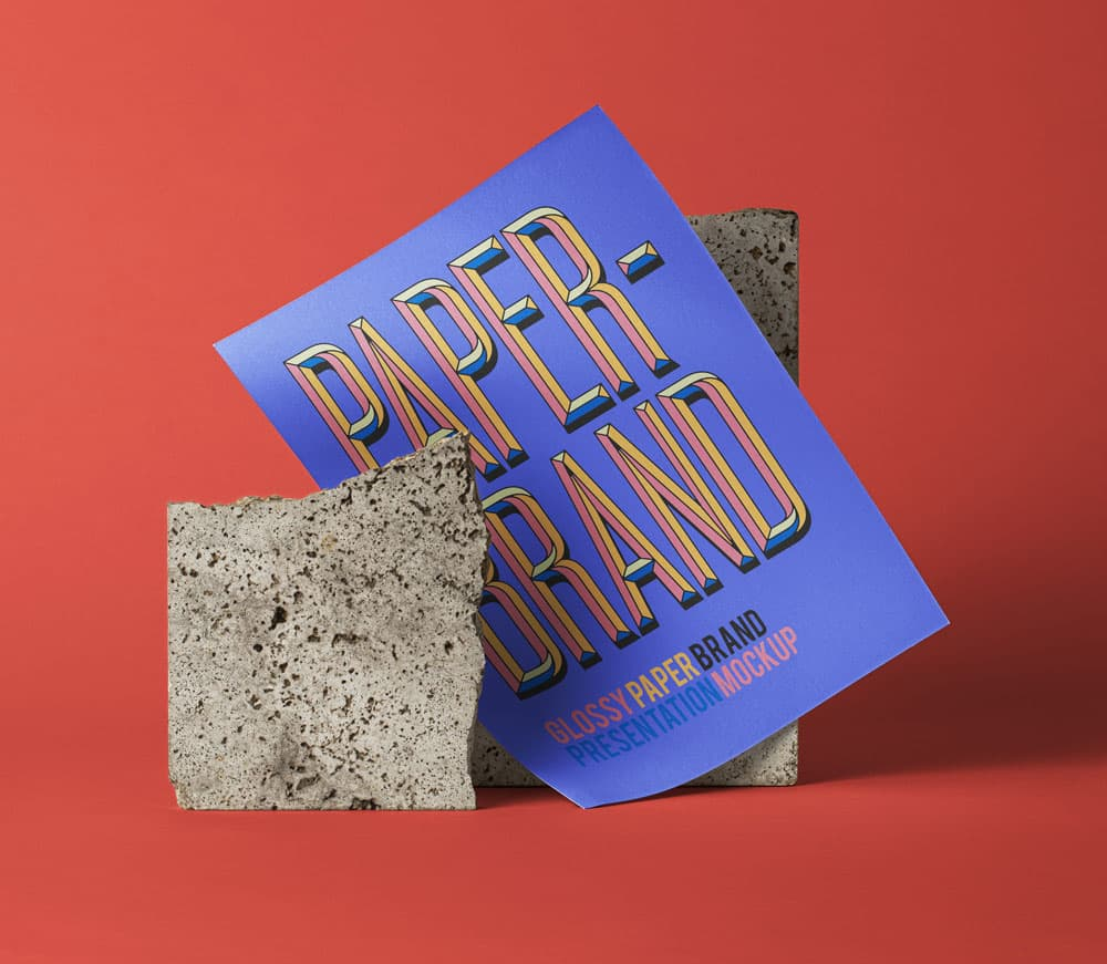 Free Flyer and Poster PSD Mockup