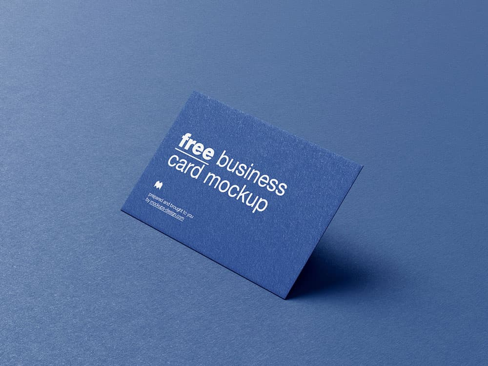 Free Professional Business Card PSD Mockups