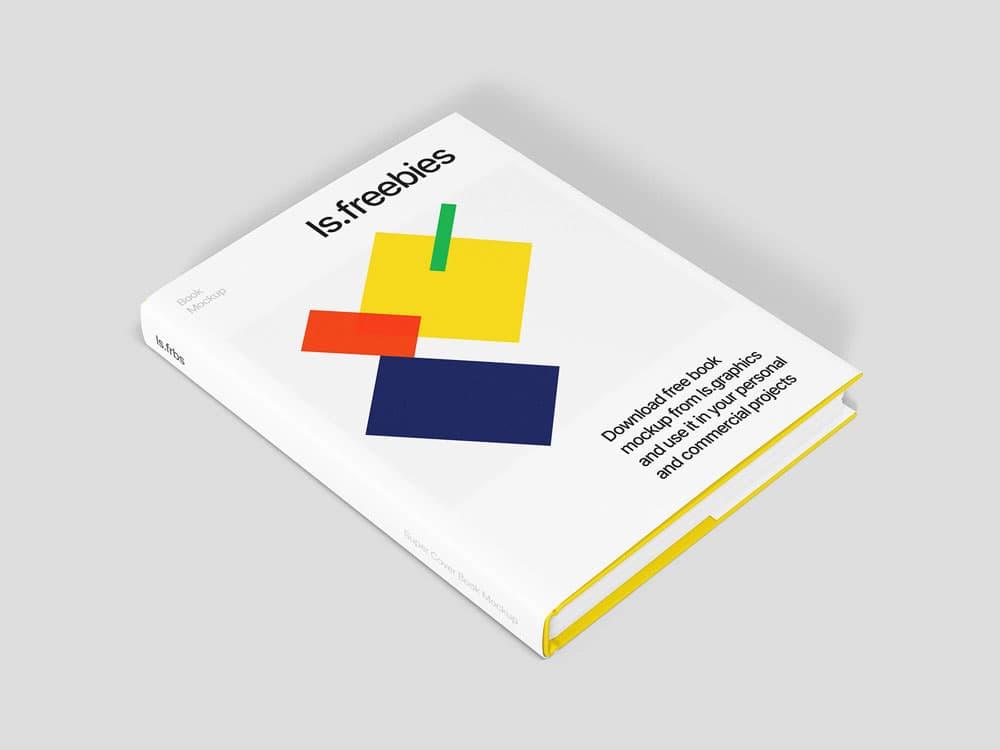 Free Super Cover Book PSD Mockup