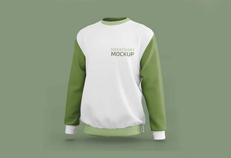 Free Sweatshirt PSD Mockup