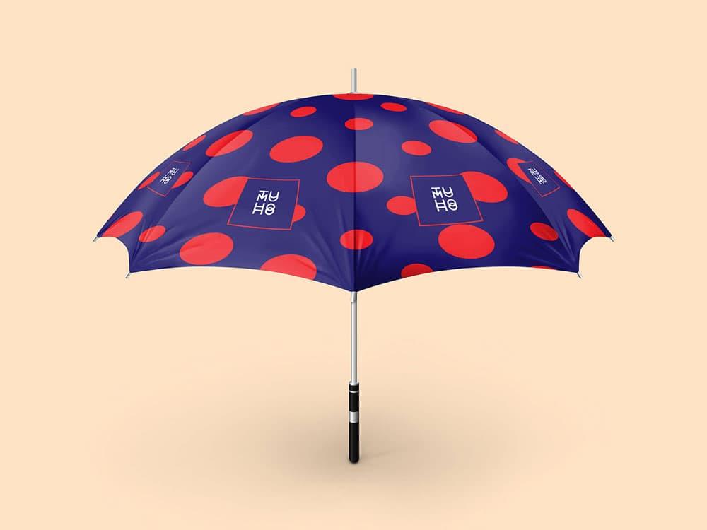 Free Umbrella PSD Mockup