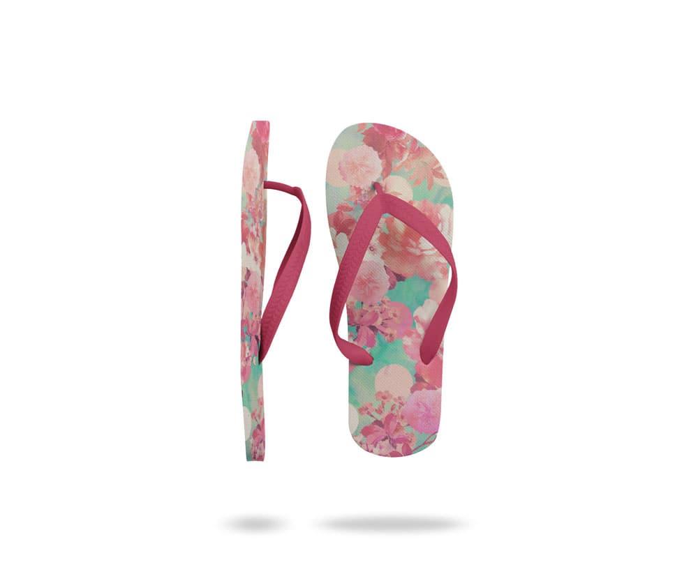 Free Flip Flops PSD Mockup