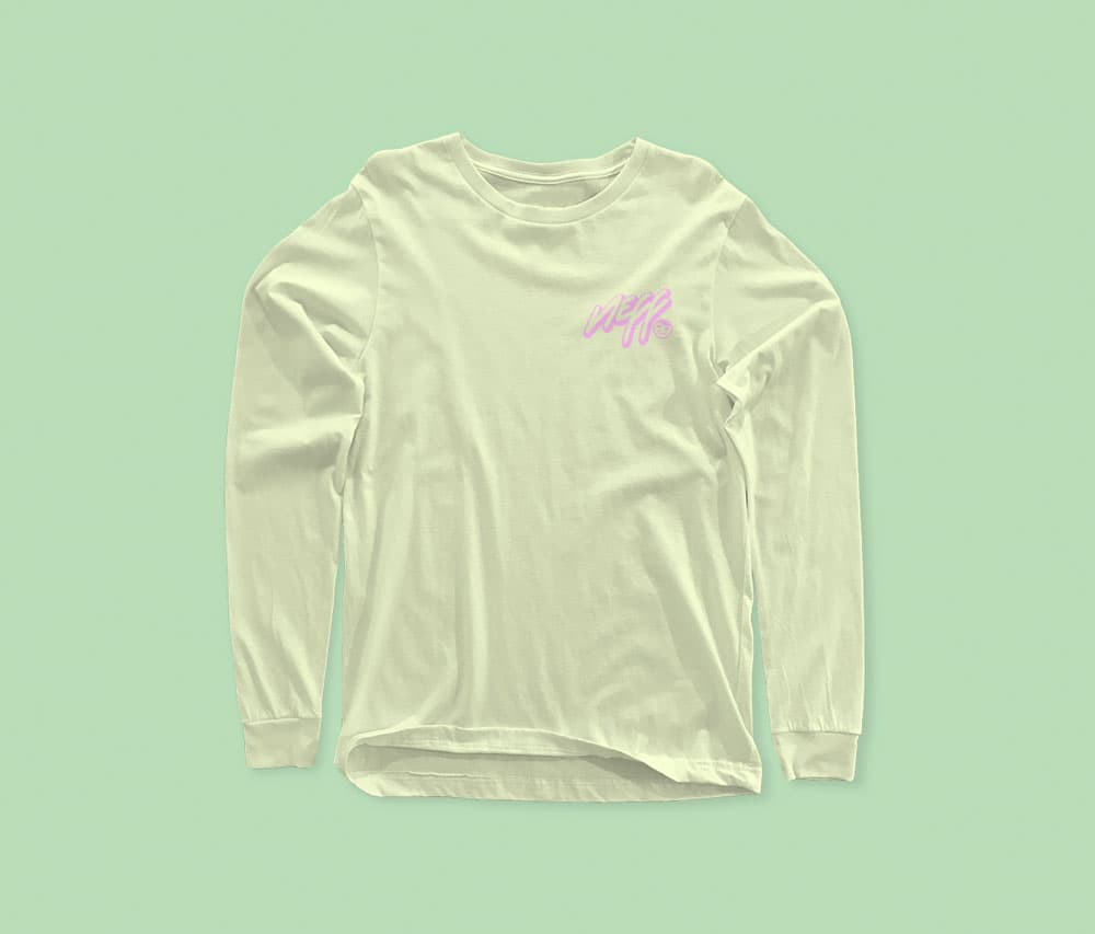 Free Long Sleeve Shirt Mockup