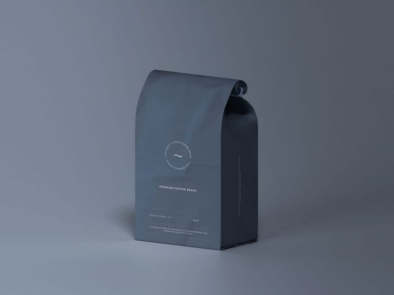 Free Pouch Bag Packaging PSD Mockups