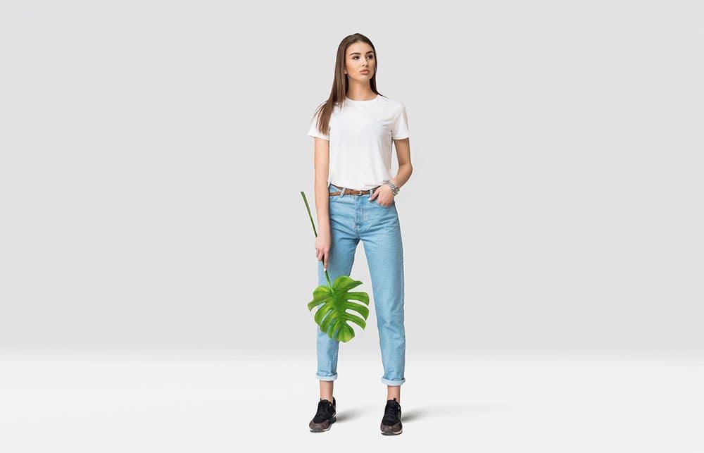 Free Summer Shirt PSD Mockup