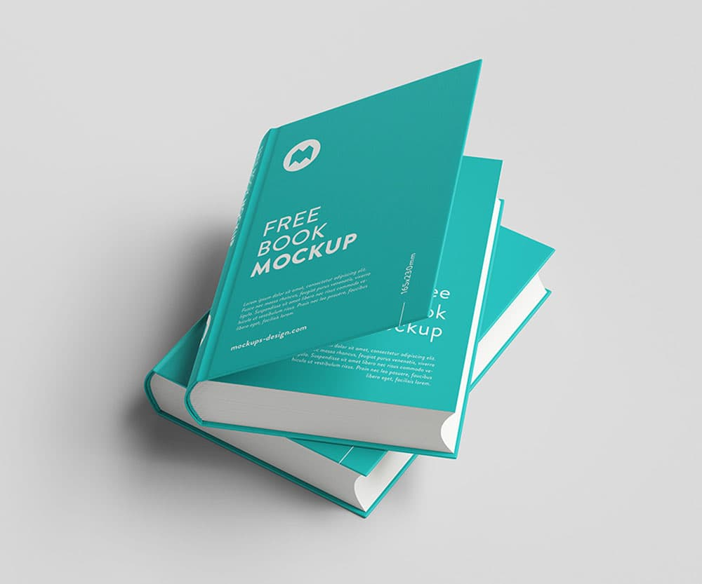 Free Thick Book PSD Mockups